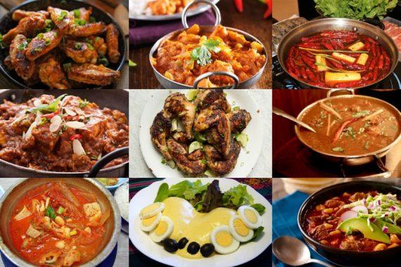 Jenis Makanan di Dunia yang Terpedas Tahun 2020